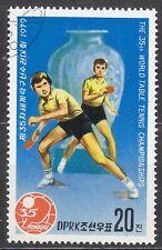 KOREA Pn. 1979 used SC#1800  20ch sta, 35th World Table Tennis Championships.