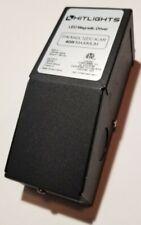 HitLights 40 Watt Dimmable Driver, Magnetic LED Driver, 110V AC - 12V DC