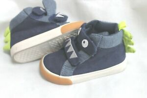 baby GAP SIZE 5 Boys' Shark HIGH TOP SNEAKERS SHOES