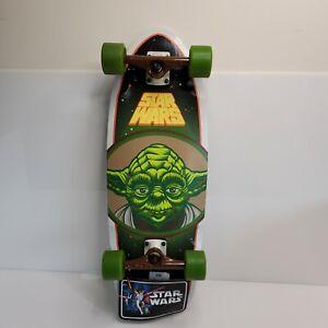 Rare Santa Cruz Limited Edition Star Wars Cruiser Skateboard Yoda Bullet 2014