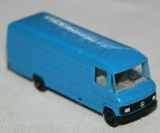 Herpa 1/87 H0 Mercedes-Benz 508 D Blau Kastenwagen Made in W-Germany