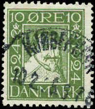 Denmark Scott #166 Used
