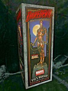 """BOWEN MARVEL AVENGERS FANTASTIC 4 """"DAREDEVIL"""" FAUX BRONZEVERSION STATUE FIGURE"""