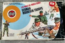 Airfix German Mountain Troops 1:32 Military Figures 1975 Issue Box
