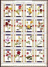 Umm al Qiwain 1972 ** Mi.1434/49 A Blumen Flowers Rosen Roses