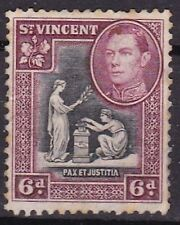 St Vincent and Grenadines George V Era (1910-1936) Stamps