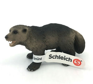 Schleich Wolverine Wildlife Animal Toy Figure NEW with Tag Model 14646 Retired