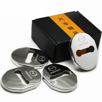 For Accessories Mazda3 6 CX 5 CX 3 Stainless Steel Car Door Lock Protector Cover