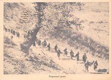 1692) WW2, GRECIA, COLONNA DI PRIGIONIERI GRECI.