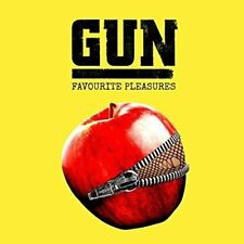 GUN Favourite Pleasures 2017 vinyl LP + download card BRAND NEW & FACTORY SEALED