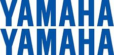 YAMAHA DECALS TWO EXTRA LARGE 1200mm 8year UV vinyl Fishing Boat Tackle  Sticker