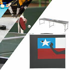Foldable Table Portable Beer Tennis Table In/Outdoor Party Banquet Camping BBQ