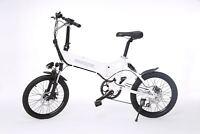 Bicicleta eléctrica plegable Llanta 20 Pulgadas Frenos de Disco 25Km Shimano