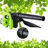 Electric Super Leaf Blower Yard Lawn Mulcher Vacuum Shredder 600W 110V+US Plug