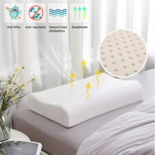 Natural Latex Pillow Foam Latex Pillow Massage Neck Shoulder Pressure Relief New