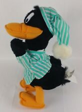 Daffy Duck Night Cap Pajamas Plush 24k Special Effects Warner Bros. Looney Tunes