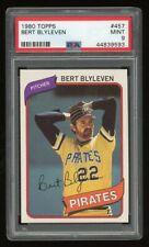 1980 Topps Bert Blyleven #457 PSA 9 Mint HOF Pirates