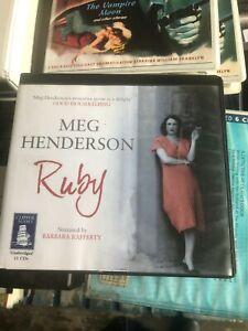Ruby by Meg Henderson Unabridged audiobook on CD