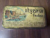 Old Tin Can Cigarette Box Cigarette Case weserspende Selection Bremen