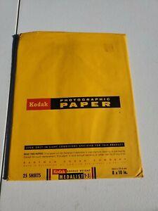 """Kodak Medalist Double Weight Y-3 8x10"""" Open Box #35"""