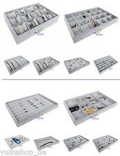 Schmucklade Schaukasten Vorlagebrett grau freie Auswahl