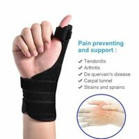Tenosynovitis Thumb Splint Support Brace Finger Medical Guard Therapy Strap