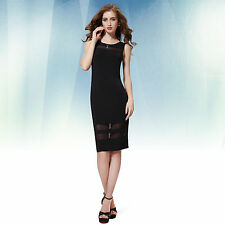 Ever-Pretty Polyester Casual Solid Dresses for Women