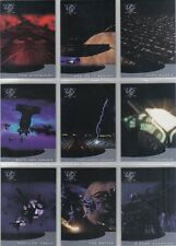 BABYLON 5 SEASON 5 SET OF 9 THIRDSPACE CARDS