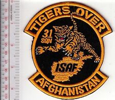 Belgium Air Force Afghanistan 31st Fighter Squadron Tigers Over Afghanistan ISAF