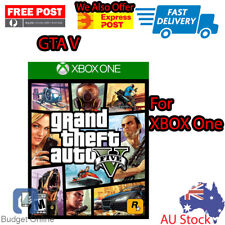Grand Theft Auto V GTA V For Xbox One Australian Version