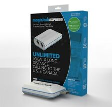 MAGIC JACK EXPRESS USES HIGH SPEED INTERNET TO MAKE CALLS 3 Free Service Months