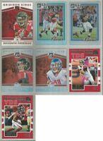Atlanta Falcons 7 card 2017 DONRUSS & DONRUSS OPTIC insert lot-all different