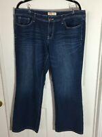l.e.i. curvy bootcut jeans - Size 15 Short