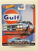 2018 Hot Wheels Car Culture Gulf Nissan Laurel 2000 SGX