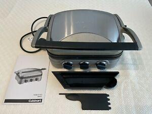 Cuisinart GR4CU 1600W Griddle & Grill