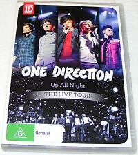 ONE DIRECTION--UP ALL NIGHT--THE LIVE TOUR --- (Dvd)