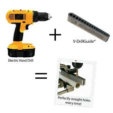 Drill block-Drill jig-Drilling Accessory-As Seen on Tv- Drill Bit Guide - Tools