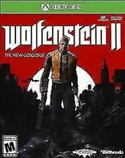 Wolfenstein II: The New Colossus 2 USED SEALED (Microsoft Xbox One, 2017)
