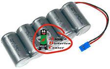 Batterieplus2go 5er Akkupack Sub C 6V 4500mAh 5er Reihe mit Graupner- Stecker