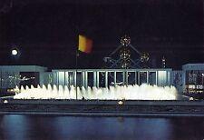 Belgique - Expo Universelle de 1958 - Place et Portique de Belgique la Nuit
