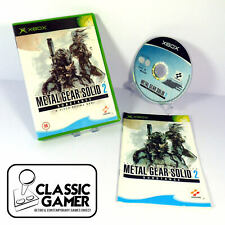 Metal Gear Solid 2: Substance (Original Xbox) Stealth Video Games - Free P&P VG