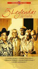 Various Artists - 5 Leyendas de Cuba / Various [New CD] Boxed Set, Argentina - I