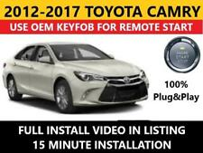 remote car starters for toyota camry for sale ebaytoyota camry pts plug \u0026 play remote start complete kit 2012 2017