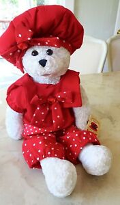 """CHANTILLY LANE 22"""" MELODY Musical Bear Sings TOP OF THE WORLD w/ Tag Moves too~"""