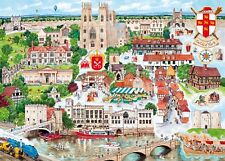 Gibsons - 1000 PIECE JIGSAW PUZZLE - York City