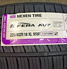 4 New 235 40 18 Nexen N'Fera AU7 Tires