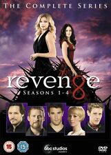Revenge: The complete Season series 1, 2, 3 & 4 DVD Box Set 1 - 4 R4 New Sealed