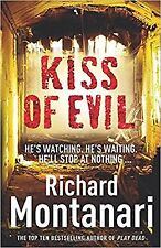 Kiss of Evil, Richard Montanari, Book, New Paperback