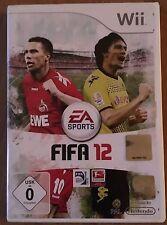 FIFA 12 Nintendo WII Sammler RAR