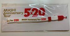 "Arashi Anniversary Tour ""5x20 more"" Official Concert Good-Strap(NEW)"